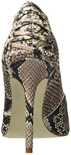 Snake Steve Madden con Scarpe Tacco Paiton Multicolore Donna Natural Pump HzraHw
