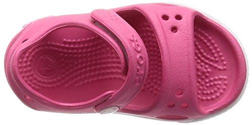 crocs Unisex-Kinder Crocband Ii Sandal Kids Pink (Paradise Pink/carnation)