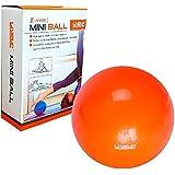 Bola Overball Para Yoga Pilates Fisio Liveup Ls3225 25cm Laranja
