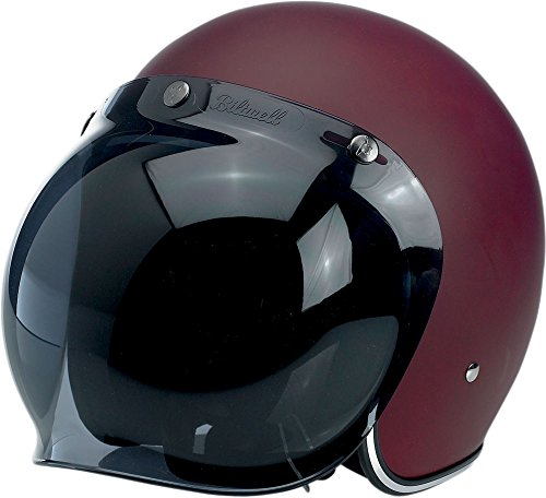 BILTWELL Injection-molded Helmet Shield Bubble Smoke Universal by Biltwell