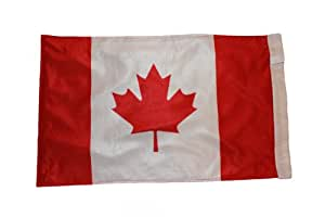 Canada 28 X 47 Cm HIGH QUALITY COUNTRY FLAG With Sleave Without Stick .. New