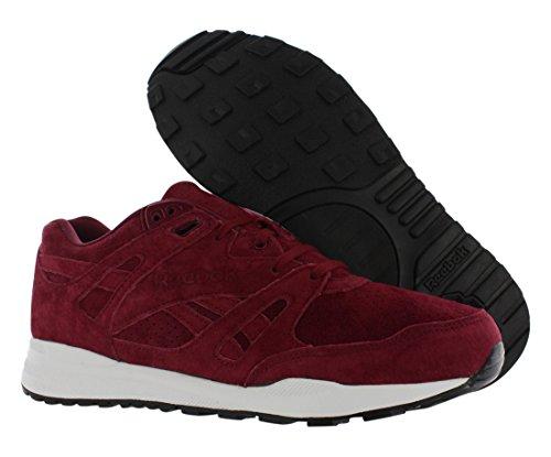 Reebok Menns Respirator Perf Sneaker Burgunder-sko / Joggesko