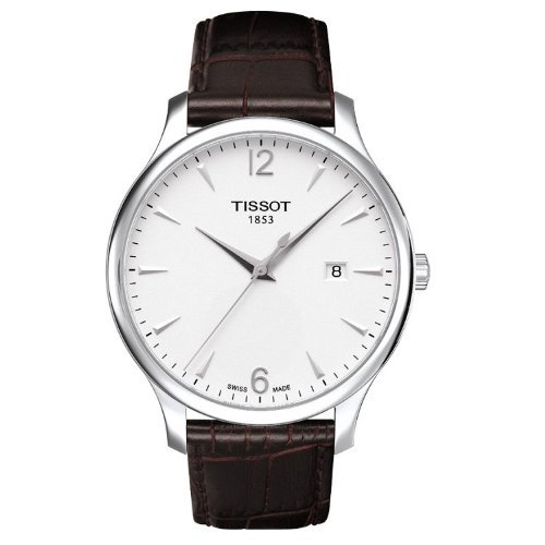Tissot T-Classic Tissot Tradition Silver Dial Men's watch #T063.610.16.037.00 by Tissot
