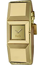Dolce & Gabbana D&G Time Watch DANCE DW0271/DW0273, Color: Gold-Coloured, Size: One Size