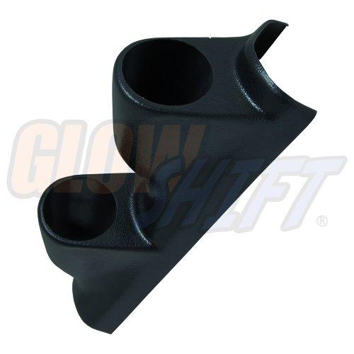 GlowShift Universal Right Hand Drive Dual Gauge A Pillar Pod (Right Pillar)
