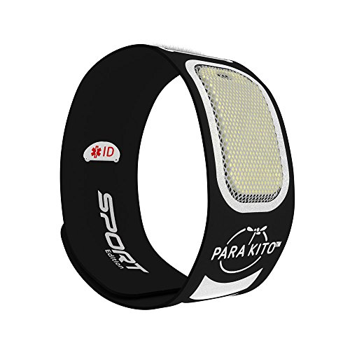 Para'Kito Mosquito Repellent - Sport Edition Wristbands - Black