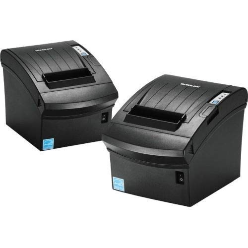 Bixolon SRP-350PLUSIIICOPG Thermal Printer with Power Supply and USB Cable, Parallel/USB/Ethernet, Black