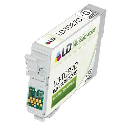 R1900 Gloss (LD Products Remanufactured Ink Cartridge Replacement for Epson T0870)