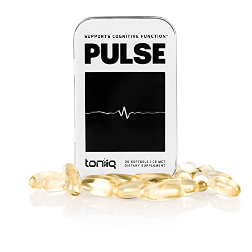 Keto Pulse C8 MCT Oil Organic Softgels by Toniiq - The Superior Energy Supplement for Weight Loss, Mental Focus and to Boost Metabolism. Coconut Oil Capsules for Exogenous Ketones. 30 Servings.