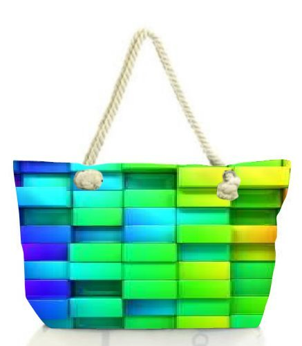 Multicolor Large Para De Tela Bolso Snoogg Mujer fO8qWw