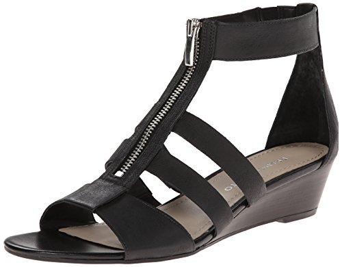 Franco Black Gladiator Sarto Sandal Unveil Women's qRxPrXwRS