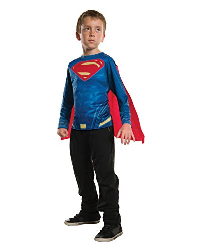Rubie's Costume Batman v Superman: Dawn of Justice Superman Child Top, Large