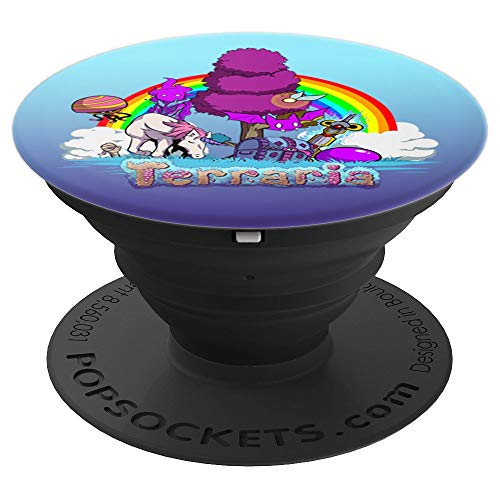Terraria Hallowed Ground - PopSockets Grip and Stand for Phones and Tablets -