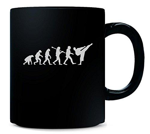 Karate Taekwondo Kick Boxing Human Evolution Fun Cool Gift - Mug