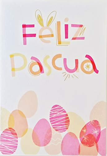 Feliz Pascua - Happy Easter Greeting Card in Spanish -