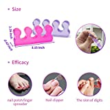 Toe Separator for Pedicure,Toes Spacer,Toe