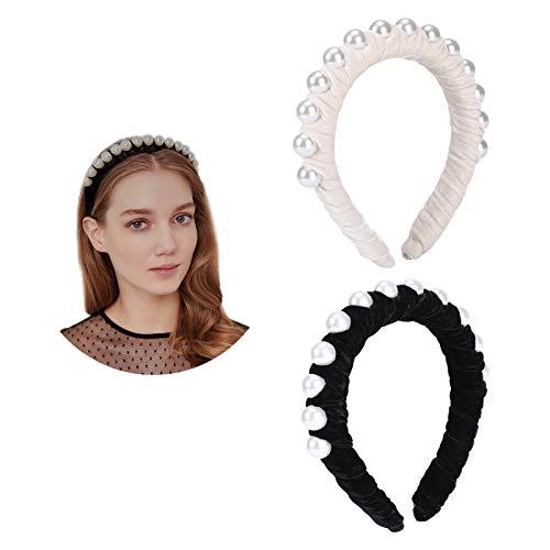 Headbands for Women Girls Padded Headband Spanish Vintage Style Alice Hair Band Matador Twisted Headband