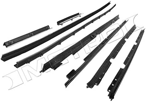 Metro Moulded Parts WC 2008-16 8-Piece Window Sweeper Kit for Coupe with Standard Interior