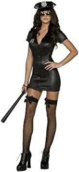 Disfraz de policía sexy para mujer L: Amazon.es: Juguetes y juegos