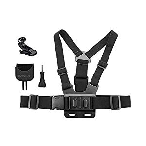 Adjustable Elastic Chest Strap with Adapter Mount for DJI Osmo Pocket and Gopro Camera 50