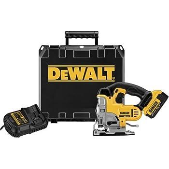 Dewalt dc330k heavy duty 18 volt ni cad cordless top handle jig saw dewalt dcs331m1 20v max lithium ion jigsaw kit greentooth Gallery