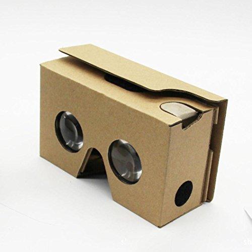 ULANDA 2015 For Google Cardboard V2 3D Glasses VR Valencia Max Fit 6Inch Phone