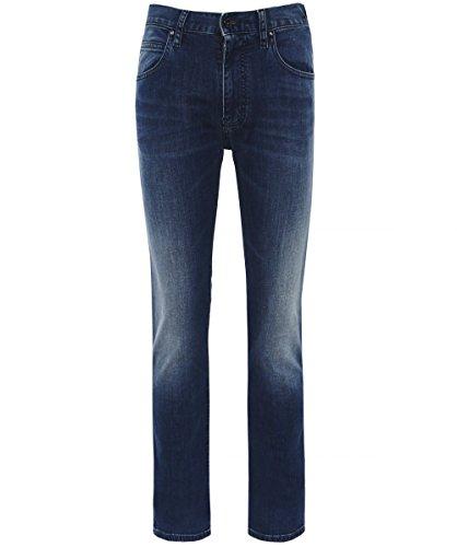 Jeans Vaqueros Denim Pantalones BLU Hombre de Emporio Armani qgCna4wE