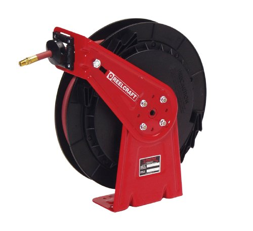 Reelcraft Rt635 Olp 3 8 Inch By 35 Feet Spring Driven Hose Reel For Air Water