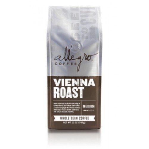 Allegro Ground Coffee 2, 12 oz Bags (Vienna Roast) -