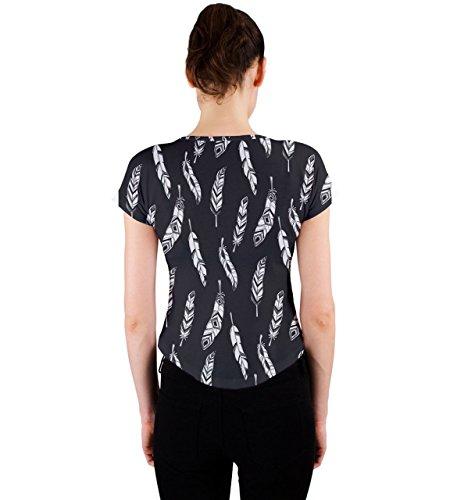 CowCow - Camiseta sin mangas - para mujer Black Bird