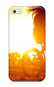 Excellent Design Biker In The Sunset Case Cover For Iphone 5c