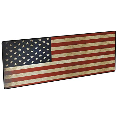 Gun Cleaning Mat Rifle Large (36 X 12inchs) 3.5 mm Thick Non Slip Backed Waterproof and oil Resistant with Stitched Edges