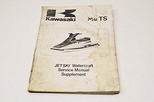 Kawasaki 99924-112251 Jet Ski Watercraft Service Manual Supplement JF650-B1 89. QTY 1