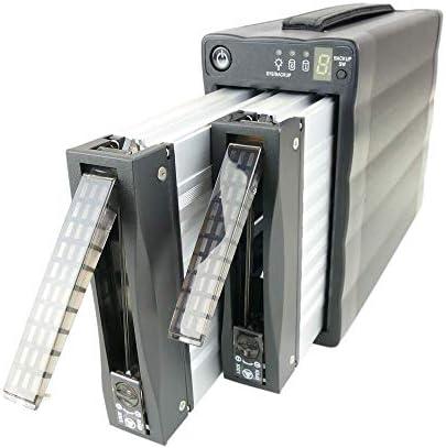 Cablematic - Caja Externa 3.5 2xSATA-HDD a eSATA+USB2 (RAID EXTRAIBLE): Amazon.es: Informática
