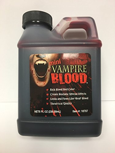 Halloween Fake Blood (Vampire Blood - Theatrical Quality Fake Blood)