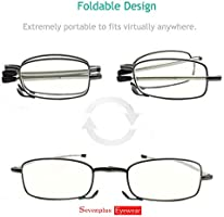 A747 Unisex Rimmed Reading Glasses Eyeglasses Bedroom With LED Light Portable