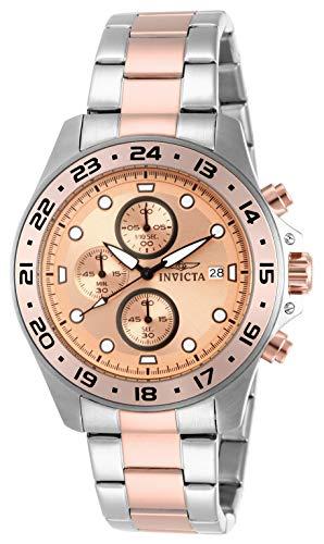Invicta Men's 15208 Pro Diver Chronograph Rose Gold Two-Tone Dive Watch