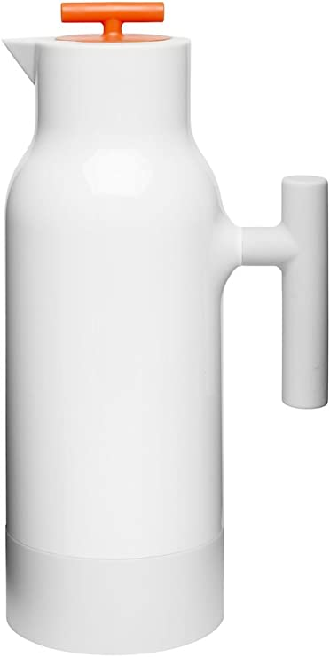 Glas Transparent 34 Fluid/_Ounces Sagaform 5017821 Flip Karaffe Blau