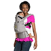 SIX-Position, 360° Ergonomic Baby & Child Carrier by LILLEbaby – The COMPLETE Original (Grey)
