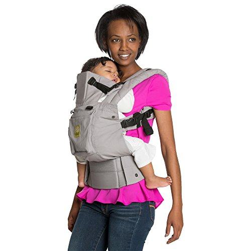 Lillebaby SIX-Position, 360° Ergonomic Baby & Child Carrier by LILLEbaby - The COMPLETE Original (Grey)
