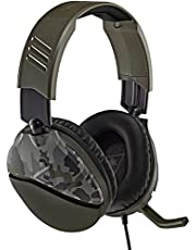 Turtle Beach Recon 70 Green Camo Gaming Headset for Xbox One, PS4, Nintendo Switch and PC