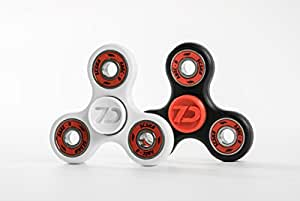 AUTHENTIC 7D CUSTOMS EDC Spinner Tri- Fidget Toy - with FUSED BEARING TECHNOLOGY -- Ultra Durable Build, ABEC 9 Bearings (Only ONE spinner included - ALL FAKE SELLERS HAVE BEEN REMOVED)