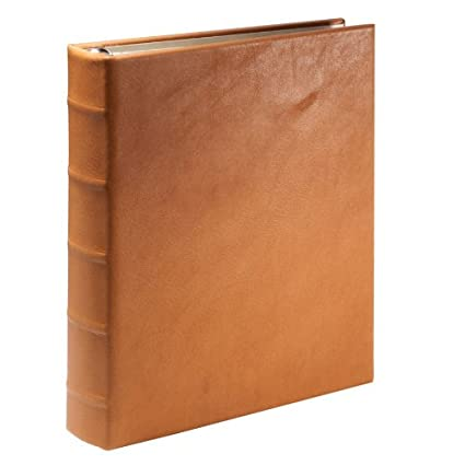 amazon com desk address book ring binder genuine calfskin