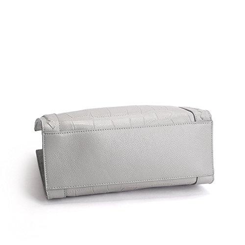 d975969f0c KISS LADY 2016 été cuir sac à main crocodile modèle clignote la première  couche cuir sac bandoulière sac, purple taro: Amazon.fr: Sports et Loisirs