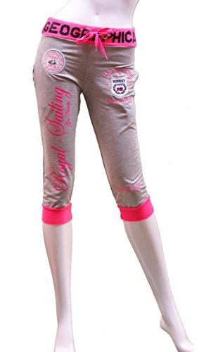 Crazy Age - Pantalón deportivo - para mujer Silber / Neon Pink