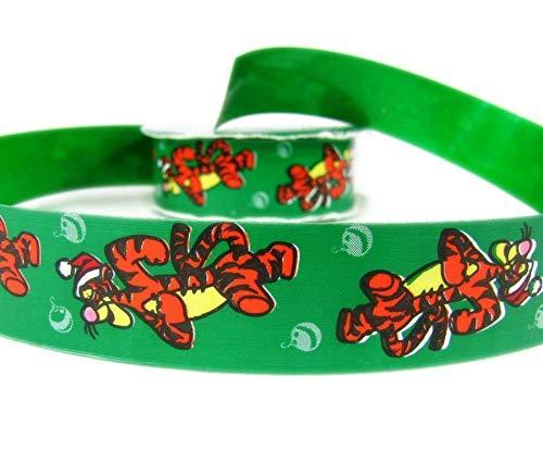(Ribbon Art Craft Decoration 10 Yards Christmas Licensed Disney Tigger Acetate Ribbon 1