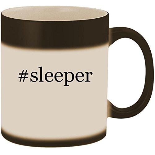 #sleeper - 11oz Ceramic Color Changing Heat Sensitive Coffee Mug Cup, Matte -