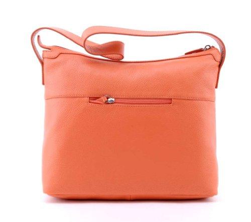 BREE, borsa a spalla, Hanna 10 Arancione (Coral (Koralle))