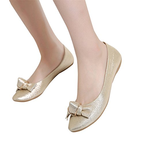 cheap Beverly Stewart New Loafers Casual Platform Shoes Woman Bowtie Ballet Flats Slip On Comfort Fashion Women Shoes Size 35-41 supplies