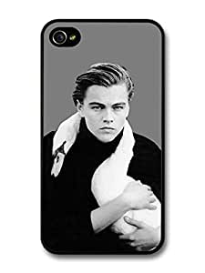 AMAF ? Accessories Leonardo Dicaprio Young White Swan Portrait case for iPhone 4 4S